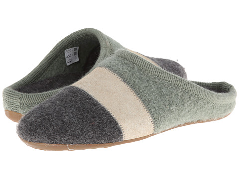 Haflinger - Tosca (Sage/Grey) Women's Slippers