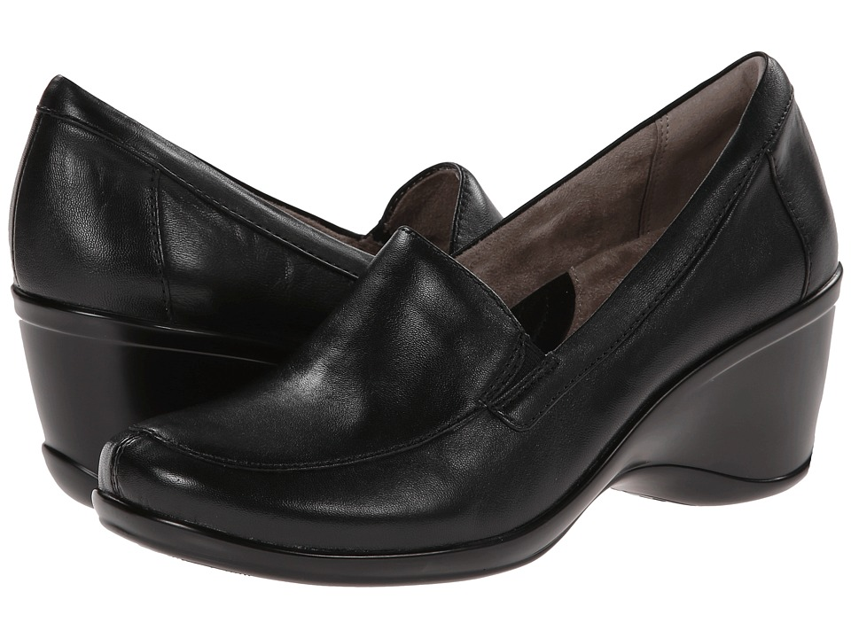 Naturalizer - Irwin (Black Leather) Women's Shoes