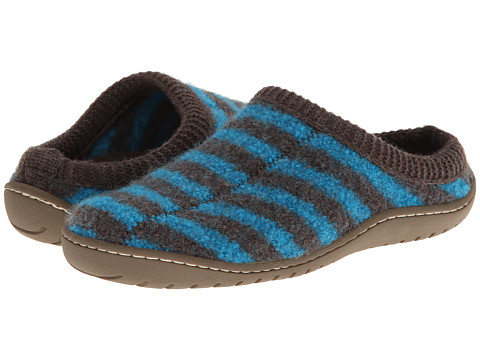 Haflinger - Senso (Electric Blue/Braun) Slippers