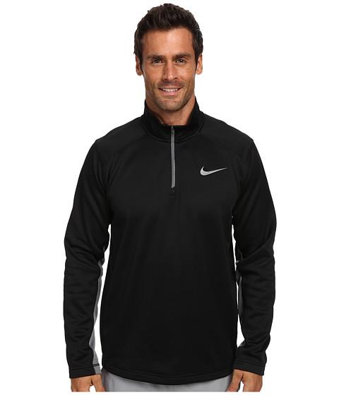 Nike - KO 1/4 Zip Top (Black/Cool Grey/Cool Grey) Men