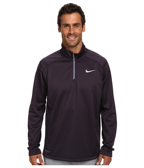 Nike - KO 1/4 Zip Top (Cave Purple/Cave Purple/Magnet Grey) Men's Long Sleeve Pullover