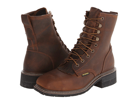 Dan Post - Sander- Waterproof Steel Toe (Saddle Tan) Men's Boots