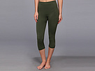 Reebok Sport Essentials Seamless Capri (Prime Green) Women's Capri
