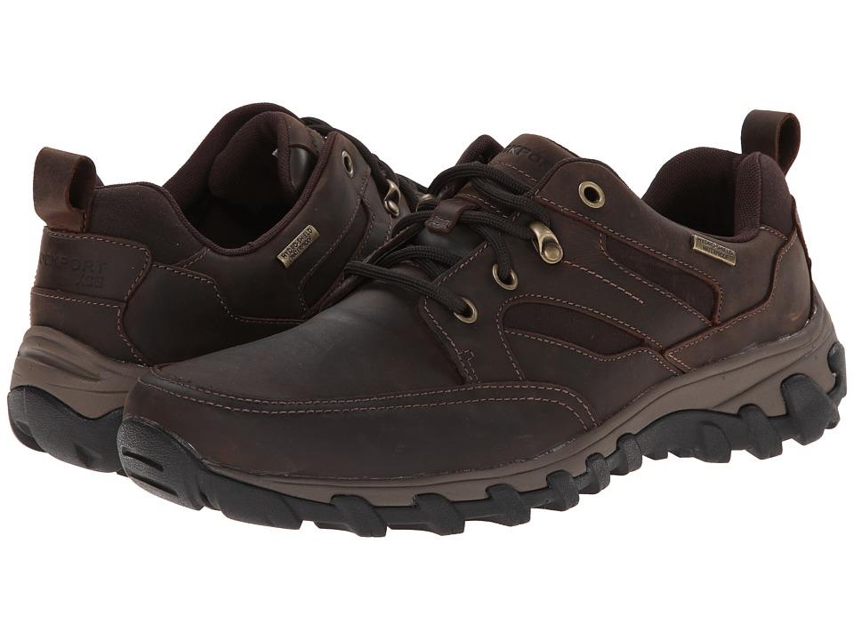 Rockport Cold Springs Plus Mudguard Oxford (Dark Brown Oiled Nubuc) Men