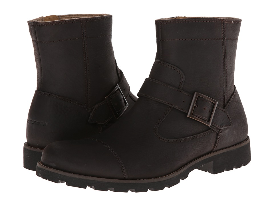 Rockport - Street Escape Buckle Boot - Cap Toe With Buckle (Brownsteen Oiled) Men