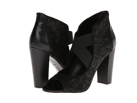 Charles by Charles David - Juju (Black Cr Suede) High Heels