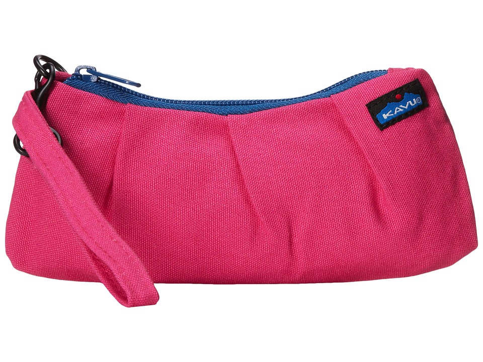 KAVU - Kennedy Clutch (Super Pink) Clutch Handbags