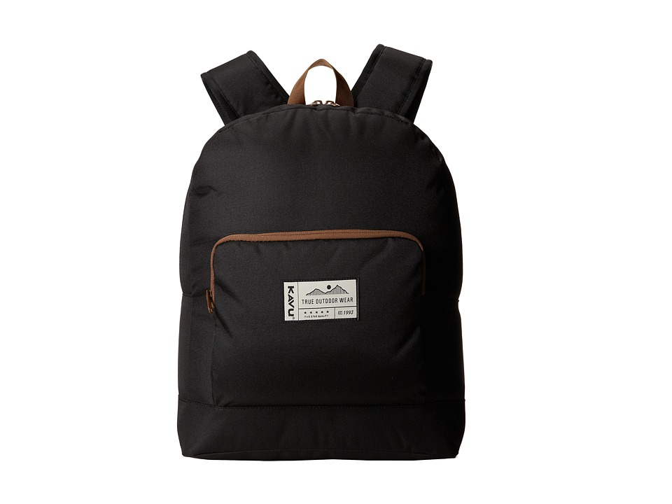 KAVU - Pack It (Black) Backpack Bags