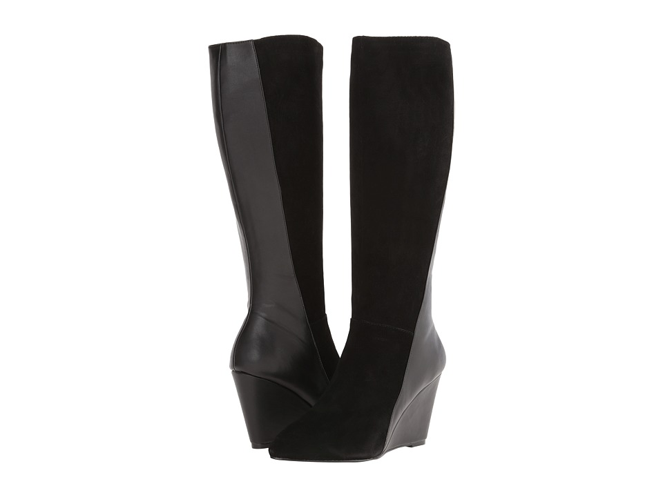 Charles by Charles David - Easton (Black Suede Smooth) Women's Pull-on Boots