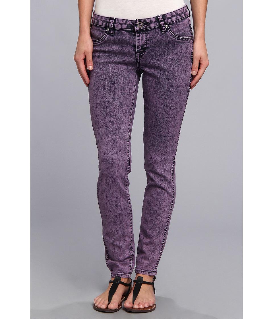 Volcom - Railed Legging (Eggplant) Women's Jeans