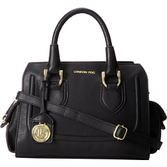 SALE! $84.99 - Save $50 on London Fog Suffolk Satchel (Black) Bags and Luggage - 37.04% OFF $135.00