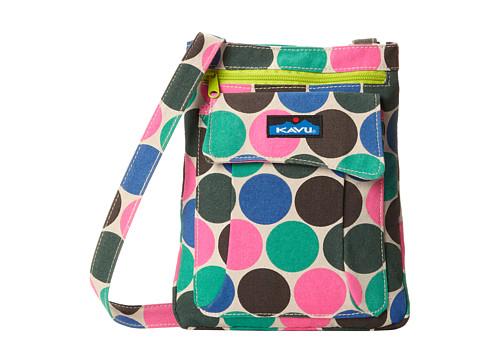 Accessories-KAVU Keeper (Earth Dot) Cross Body Handbags
