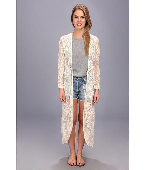 Brigitte Bailey - Beverly Maxi Cardigan (Natural) Women's Sweater