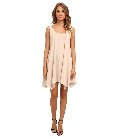 Brigitte Bailey - Mollie Tie Back Dress (Khaki) Women's Dress