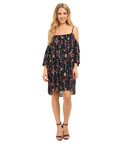 Gabriella Rocha - Kimmy Open Shoulder Dress (Neon Pink) Women