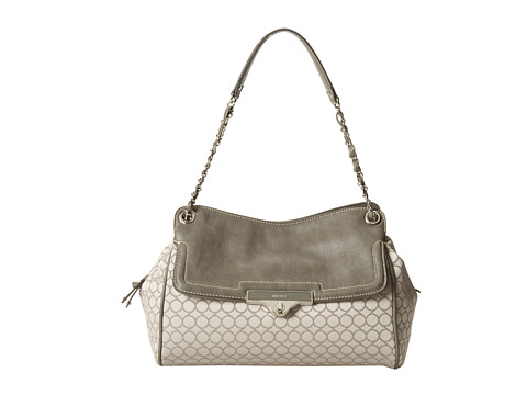 Nine West - M9 Sate Medium Shoulder (Charcoal Grey) Shoulder Handbags
