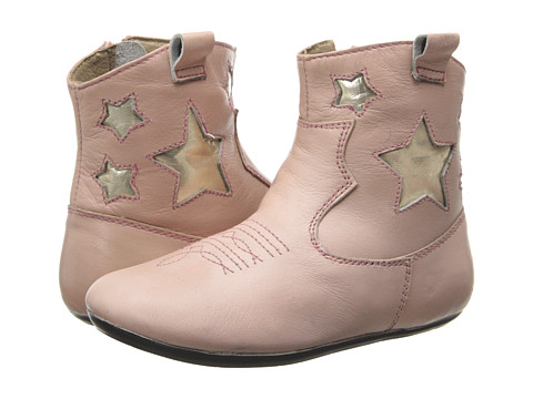 Pazitos - Twinkle Bootie (Toddler) (Pink) Girls Shoes