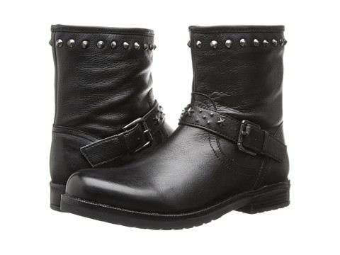 Pazitos - Star Studs Boot (Little Kid/Big Kid) (Black) Girls Shoes