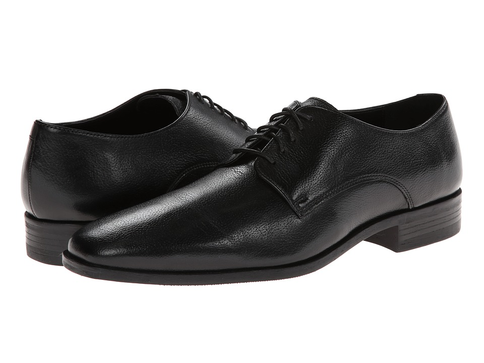 Cole Haan - Kilgore Plain Toe (Black) Men's Plain Toe Shoes