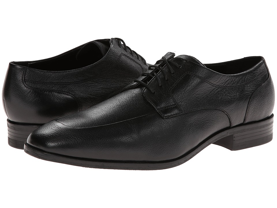 Cole Haan - Kilgore Apron Oxford (Black) Men's Lace up casual Shoes