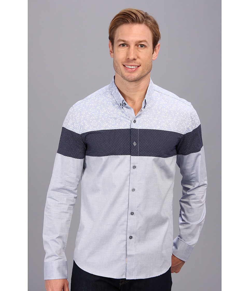 7 Diamonds - Orchid L/S Shirt (Blue) Men