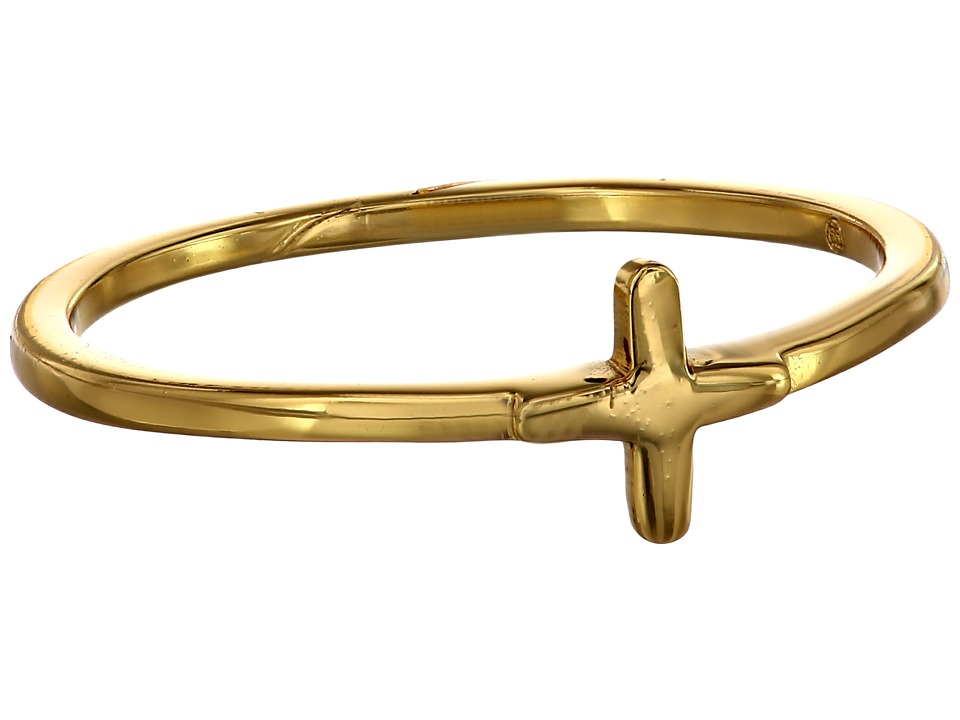 gorjana - Cross Over Midi Ring (Gold) Ring