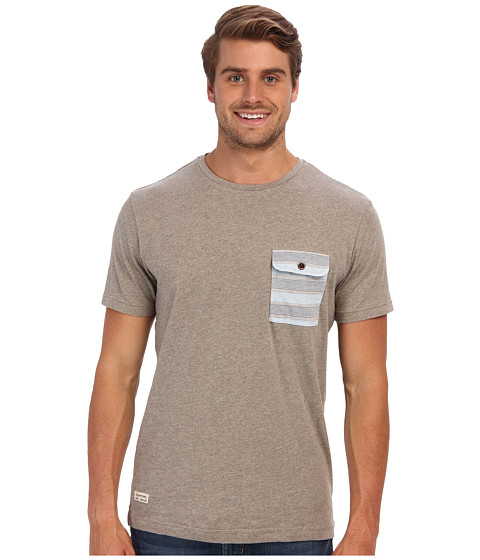 7 Diamonds - Harris S/S Tee (Sand) Men's T Shirt