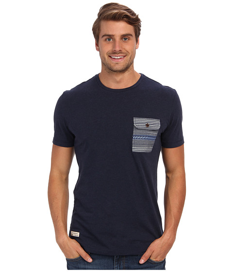 7 Diamonds - Davin S/S Tee (Navy) Men's T Shirt