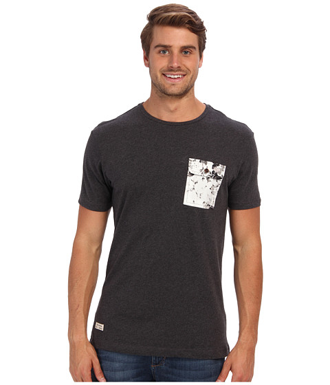 7 Diamonds - Herald S/S Tee (Charcoal) Men's T Shirt