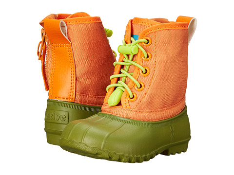 Native Kids Shoes - Jimmy (Infant/Toddler) (Juice Greeen/Foxtail Orange) Kids Shoes