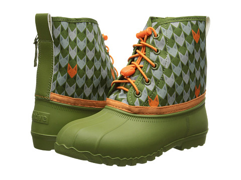 Native Kids Shoes - Jimmy Fox Head Print (Little Kid) (Juice Green/ Juice Green Fox Head Print) Kids Shoes