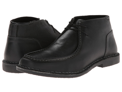 Steve Madden - Handler (Black Leather) Men