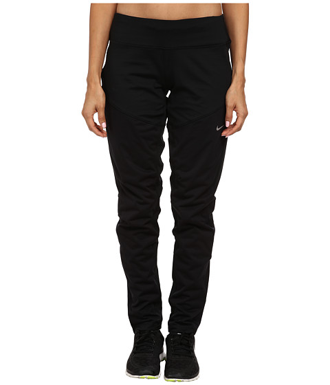 Nike - Shield Pant (Black/Reflective Silver) Women