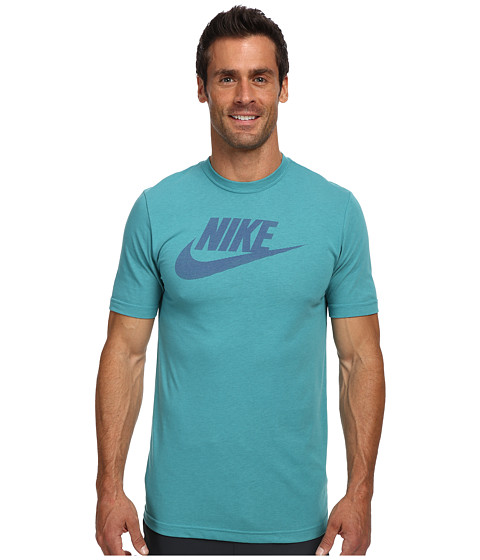 Nike - 26 O Futura Tee (Catalina/Dark Concord) Men
