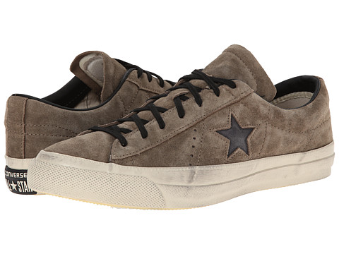Converse by John Varvatos - One Star Brushed Suede (Military Olive) Athletic Shoes