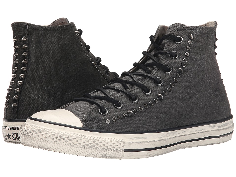 Converse - Chuck Taylor All Star Painted/Hardware (Black/White) Athletic Shoes