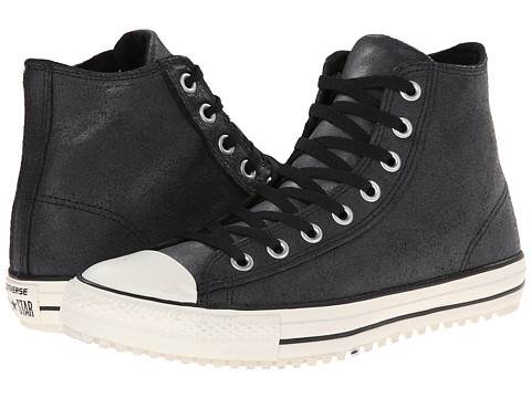 Converse - Chuck Taylor All Star Converse Boot Mid (Black) Lace up casual Shoes