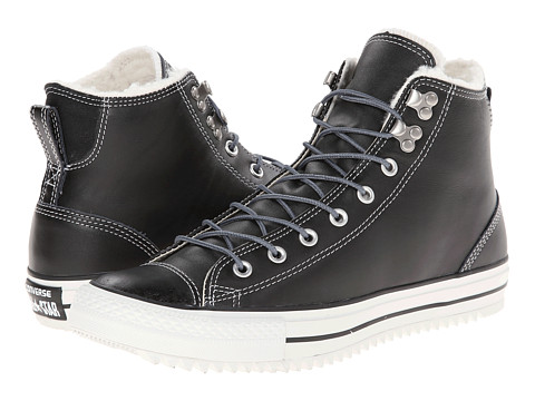 Converse - Chuck Taylor All Star City Hiker Hi (Black) Lace up casual Shoes