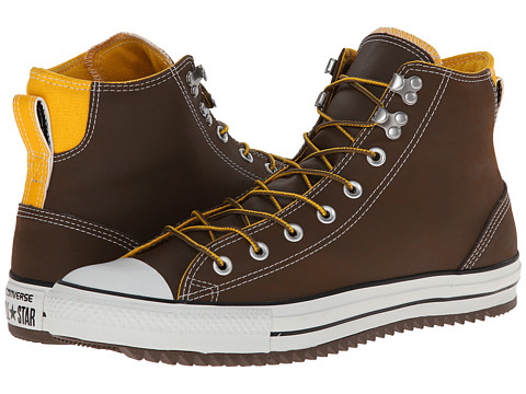 Converse - Chuck Taylor All Star City Hiker Hi (Chocolate/Wild Honey) Lace up casual Shoes