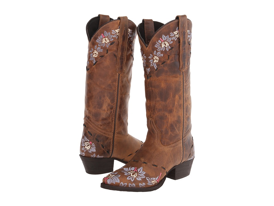 Laredo - Mystique (Brown/Rust Earthquake) Women's Pull-on Boots