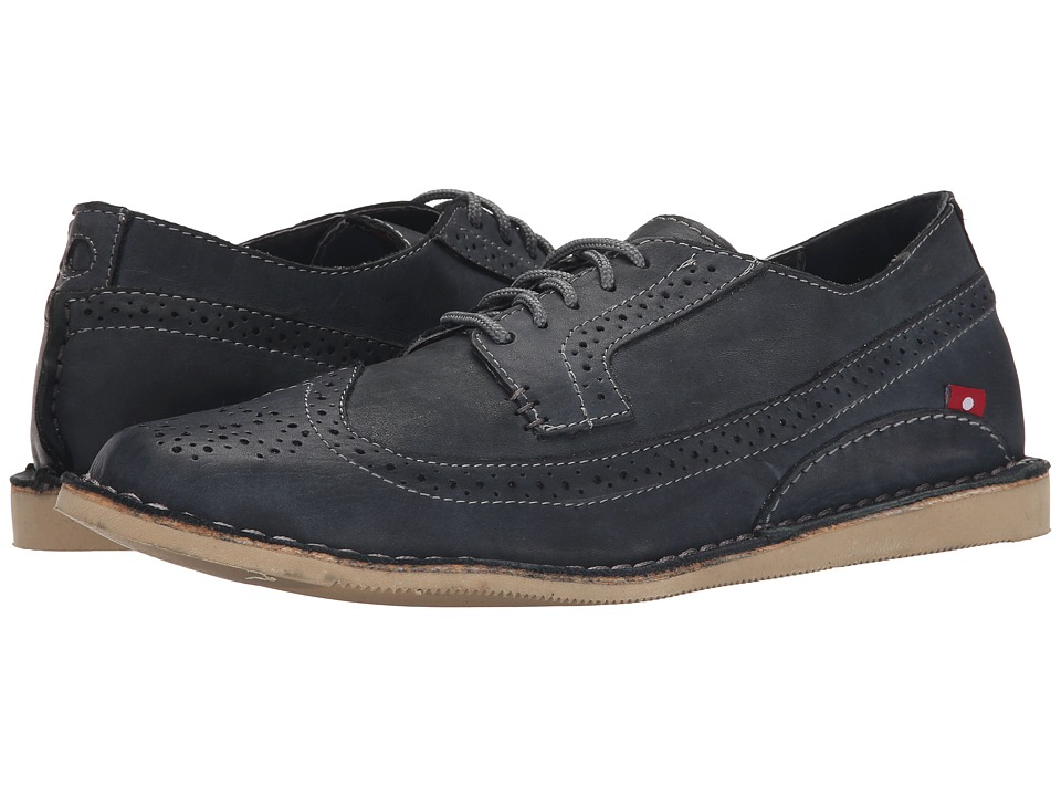 Oliberte - Manilo (Dark Grey Brushed Wax) Men's Shoes