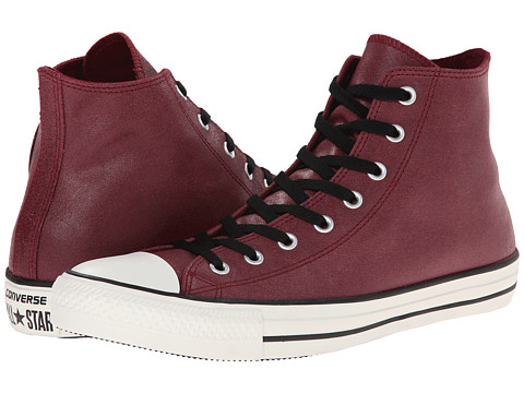 Converse - Chuck Taylor All Star Vintage Leather Hi (Oxheart) Lace up casual Shoes