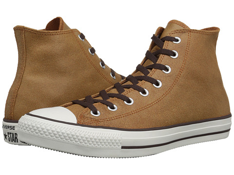 Converse - Chuck Taylor All Star Vintage Leather Hi (Auburn) Lace up casual Shoes