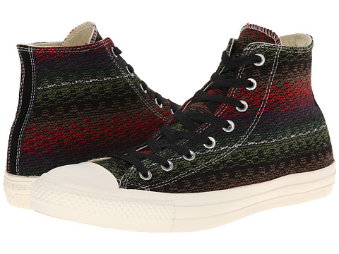 Converse - Chuck Taylor All Star Layer Details Hi (Elderberry/Auburn) Lace up casual Shoes