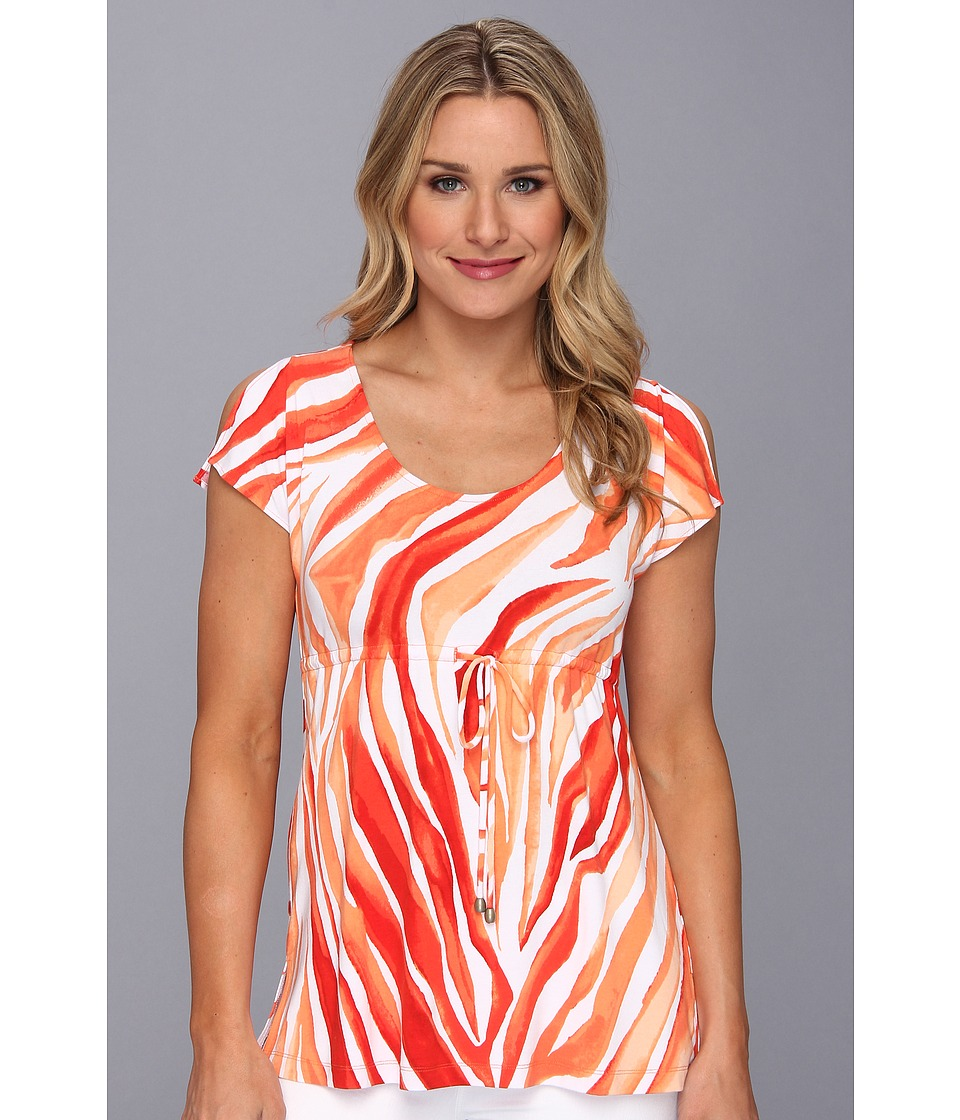 Tommy Bahama - Zebra Palm Top (Heat) Women