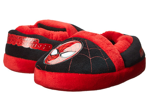 Favorite Characters - Ultimate Spiderman Slipper 1SPF230 (Toddler/Little Kid) (Black) Boys Shoes