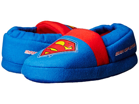 Favorite Characters - Superman Slippers 1SUF201 (Toddler/Little Kid) (Blue) Boys Shoes
