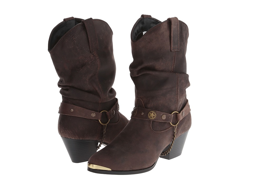 Dingo Olivia (Dark Brown) Cowboy Boots