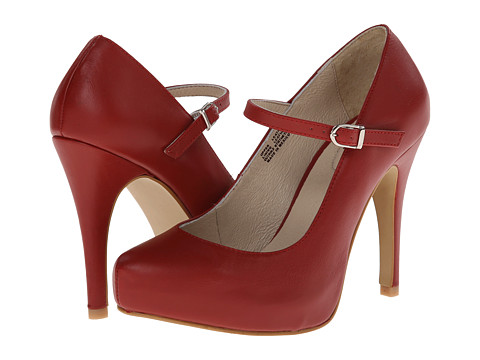 Fitzwell - Patsie (Red Leather) High Heels