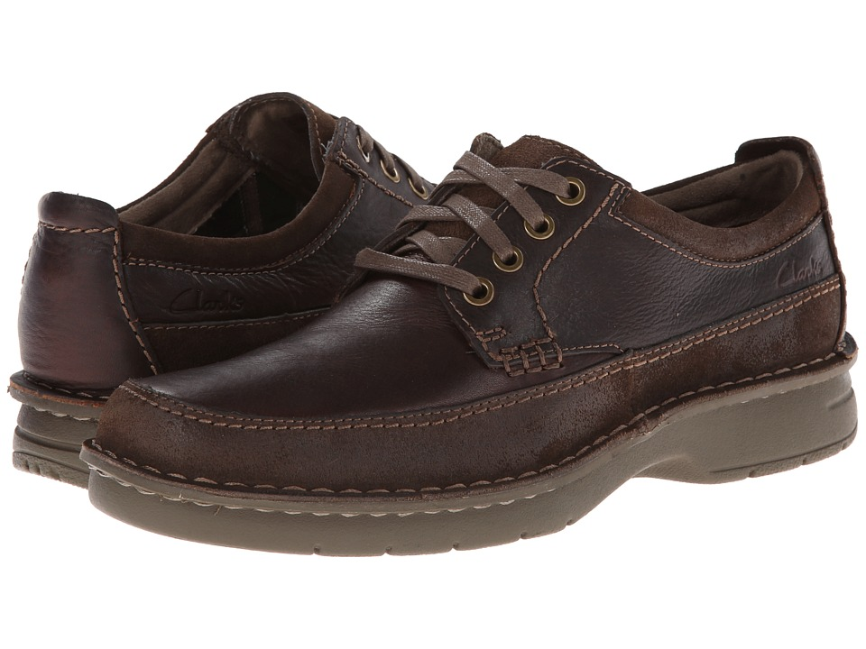 Clarks - Seeley Pace (Brown Leather) Men's Shoes